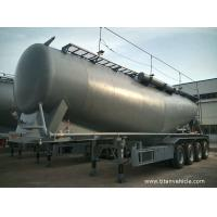 Buy cheap  4 axle bulk cement tank semi trailer prices of cement silo- TITAN VEHICLE from wholesalers
