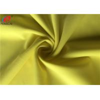 Buy cheap Make-to-order Semi-dull Solid Color Polyester Spandex Fabric , Stretch Lycra Fabric For Apparel from wholesalers