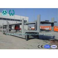 Buy cheap 2 Layer Skeletal Structure Auto Transport Trailer With Hydraulic Cylinder from wholesalers
