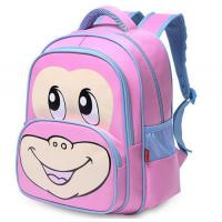 Buy cheap 420d Nylon Pink Kid School Bag Laptop Backpack With Two Front Zipper Pockets from wholesalers