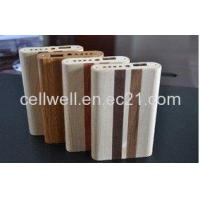 Buy cheap 5500mah Bamboo Portable Power Bank for Mobile Phone from wholesalers