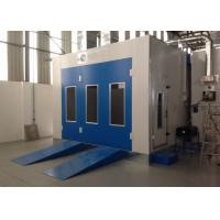 Buy cheap Water Curtain Paint Spray Booth With Drying Oven Diesel Burner Heating Turbo Fan from wholesalers
