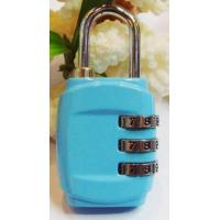 Buy cheap 3 digital combination zinc alloy combination luggage lock/suitcase lock from wholesalers