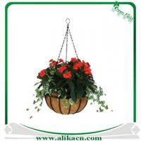 Buy cheap Wire Hanging Basket with Coco Liner from wholesalers