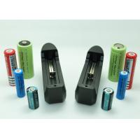 Buy cheap Longest Lasting 18650 Li Ion Battery , Universal Lithium Ion Camera Battery Charger from wholesalers