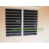 Buy cheap Aluminum Safe Glass Louvered windows with tinted glass, hurricane-proof Louvered windows from wholesalers