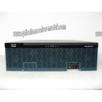 Buy cheap 1024 Mbps Cable Type Cisco 3945 Router 2 x PWR-3900-AC w/SEC License PAK from Wholesalers