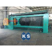 Buy cheap Heavy Duty Gabion Mesh Machine Net Weaving Machine 80x100mm Netting Width 4300mm from wholesalers