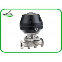 Buy cheap Professional Hygienic Diaphragm Actuator Valve Mushroom Valves Spring Return / Double Acting from wholesalers