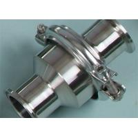 Buy cheap Eccentric Design 1/2-6 Sanitary Check Valves Non Porous , Easy To Clean And Maintain from wholesalers