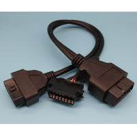 Buy cheap Male To Renault Female OBD2 Y Cable 26AWG Pure Copper Materials from wholesalers