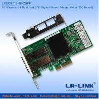 Buy cheap PCI Express PCIe x4 Dual SFP Port Gigabit Server Adapter (Intel I350 Based) from wholesalers