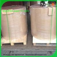Buy cheap Hot sale 60gsm 70gsm 80gsm woodfree paper roll in malaysia from wholesalers