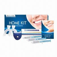 Buy cheap Teeth Whitening Kit with Mini LED Lamp, All Strengths Peroxide or Non-peroxide Gels, with CE Marks from wholesalers