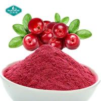 Buy cheap 100% Natural Freeze Dried Cranberry Powder Cranberry Juice Powder Extract 25% for Skin from wholesalers