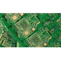 Buy cheap White Silkscreen Multilayer PCB Board FR4 Material Green Solder Mask from wholesalers
