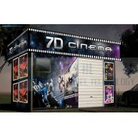 Buy cheap Mobile Design 7D Cinema System Removable Cabin High Definition product