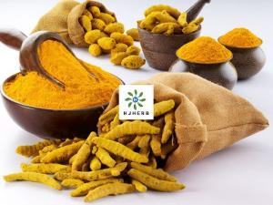 Buy cheap Yellow Powder Water Soluble Curcumin 95% For Pasta Products product