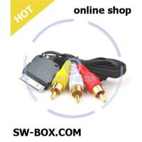 Buy cheap Audio Video AV Cable for iPhone 3G iPod Nano - Black from wholesalers