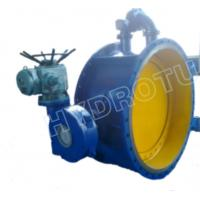 Buy cheap Dia. 50 - 3000 mm Electric / Manual Flanged Butterfly Valve For Hydropower Equipment from wholesalers