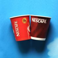 Buy cheap Personalized Corrugated Paper Cups Printing Small 250ml 8oz Paper Coffee Cups from wholesalers
