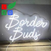 Buy cheap Clear Contour Backing Neon Signs For Business Single Color Small Neon Bar Signs from wholesalers