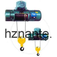 Buy cheap 5 Tons Electric Wire Rope Underhang Hoist CD / MD Lifting Equipment CE Passed from wholesalers