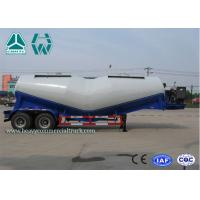 Buy cheap 27Cbm 2 Axles V Shape Bulk Cement Tank Semi Trailer With Air Compressor from wholesalers