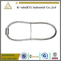 Buy cheap rigging wire rope sling  stainles steel wire rope sling with ferrule and iron wire made in china from wholesalers