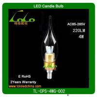 Buy cheap 2012 hotsale dimmable led candle bulb/lighting/lamp  from TOLO lighting from wholesalers