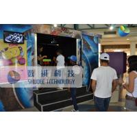 Buy cheap Mobile 6D Movie Theater , 6D Motion Simulators Experience With Fire Effects product