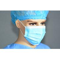 Buy cheap Nonwoven Blue Protective Surgeon Face Mask For Hospital / Beauty Salon from wholesalers
