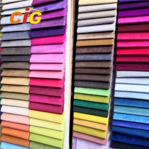 Buy cheap Shiny Italian Soft Velvet Upholstery Material For Sofas , 280gsm Width product
