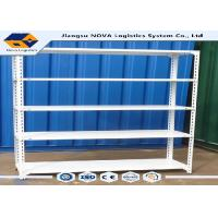 ISO14001 Middle Duty Rivet Boltless Shelving With Fully Painted Steel Frame