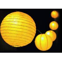 China Lantern Solar Powered Decorative String Lights IP65 Waterproof / Dustproof on sale