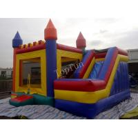 Buy cheap Funny Inflatable Jumping Castle , Custom Commercial Playground Slides from wholesalers