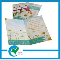 Buy cheap OEM Customized Greeting Card Stock Paper Printing for Holiday Decoration & Gift from wholesalers