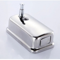 Buy cheap Wall Mounted Bathroom Manual 201 Stainless Steel Soap Dispenser from wholesalers