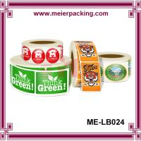 Buy cheap Label Sticker China Supplier/Roll Labels & Stickers/Paper and vinyl/decal label printing  ME-LB024 from wholesalers