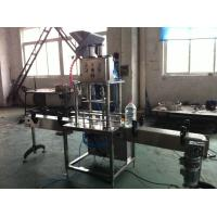 Buy cheap 5L / 10L Linear Drinking Water Bottle Filling Machine For Shaped Bottles , 1000bph from wholesalers