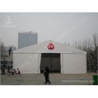 Buy cheap White Heat Resistant Industrial Warehouse/ Storage Tent  Shelter For Raw Materials from wholesalers