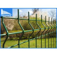 Buy cheap 2500mm Nylofor 3D Fence Panel , Weld Mesh Panels Square / Round Post from wholesalers