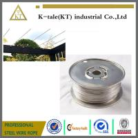China Cable Railing for Pergola /stainless steel wire rope for pergolas and plant training on sale