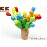 Buy cheap Wooden Bulbous Cactus Dismounting on-u-mind educational Blocks Toy from wholesalers