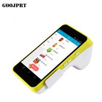 Buy cheap Colorful Surface Android Pos Terminal , Mobile Pos Terminal With Printer from wholesalers