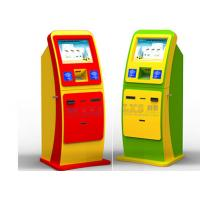 Capacitive Touch Screen Vending Bill Payment Kiosk With Magnetic Card Reader