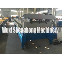 Buy cheap Roof Tile Steel Roll Forming Machine 18 Stations With Mitsubishi PLC Converter from wholesalers