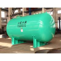 Buy cheap Horizontal glass lined Chemical storage tank 30000L wih corrosion resistance materials from wholesalers