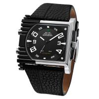Buy cheap WEIDE WH2301 real leather watch band LED mans cool watch from wholesalers