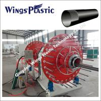 Buy cheap HDPE Plastic SRTP Composite Pipe Making Machine, SRTP Pipe Production Line from wholesalers